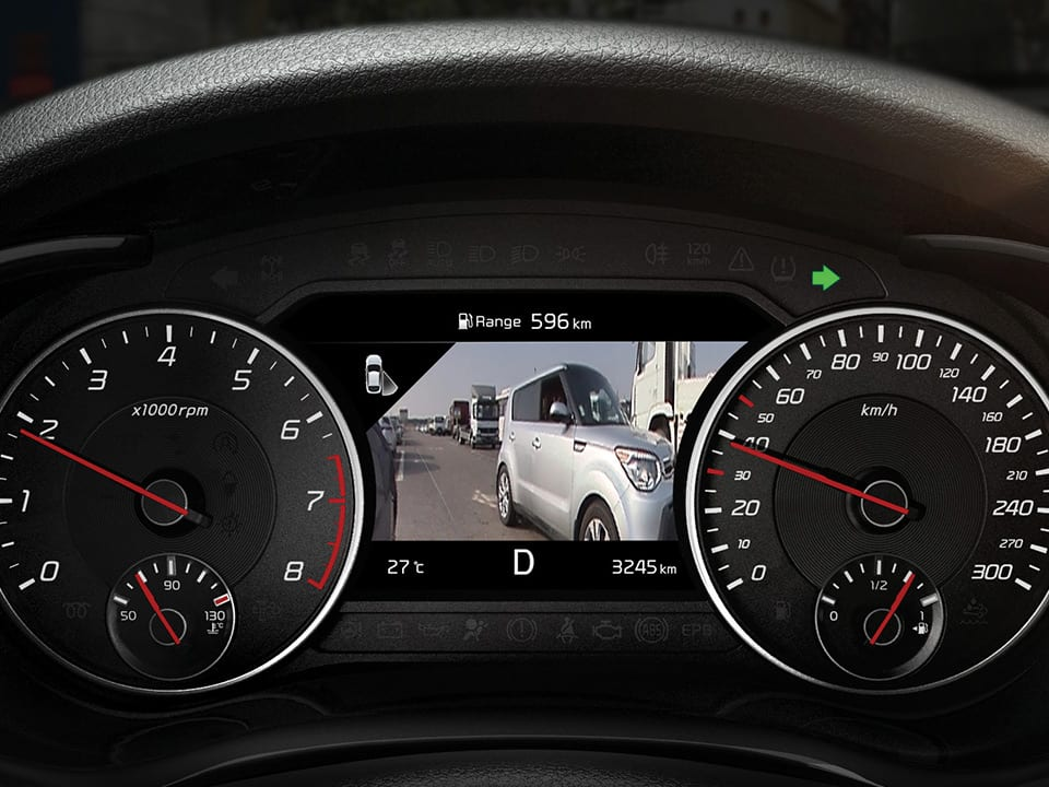 New Kia Stinger GT Heads-Up Display